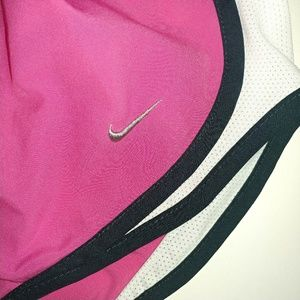 Nike Shorts - Nike Fitdry Pink Black White Shorts Size Medium